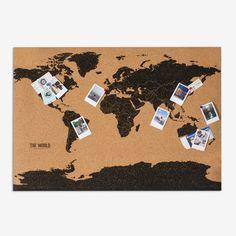 World map cork board cork boards cork and you ve cork board map gumiabroncs Gallery