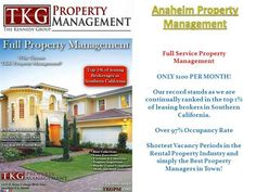 Try this site http://tkgpm.com/ for more information on Full Service Property Management. Full Service Property Management is much more than a matter of responsibility, awareness and information. It requires time, intelligence and witness, great attention to details, but also management qualifications. They also manage income and activities involving expenses, repair, maintenance and other aspects of the construction and development.Follow us…