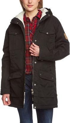 Amazon.com : Fjallraven Women's Greenland Winter Parka, Small, Black : Clothing Winter Jackets Women, Coats For Women, Parka Outfit, Winter Parka, Hooded Parka, Active Wear For Women, Canada Goose Jackets, Women's Jackets, Women's Coats