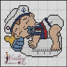 Cross Stitch Sea, Baby Cross Stitch Patterns, Cross Stitch For Kids, Cross Stitch Designs, Cross Stitching, Cross Stitch Embroidery, Plastic Canvas Patterns, Pixel Art, Google