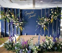 Image may contain: plant and flower Wedding Backdrop Design, Wedding Stage Design, Wedding Reception Backdrop, Wedding Mandap, Wedding Receptions, Flower Wall Backdrop, Wall Backdrops, Backdrop Decorations, White Backdrop