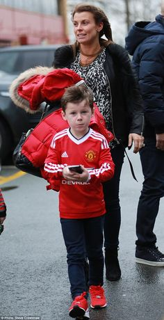 Proud mumma:Coleen Rooney didn't let her blossoming baby bump get in the way of having a ...