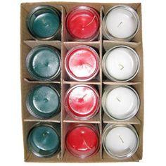 Sanctuary Series Church Candles, Assorted Colors, 12pk, Multicolor