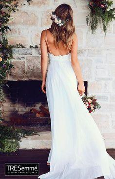 Big Day Sweetheart Vestido Novia Blanco Romántico TRESemmé