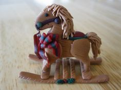 Polymer Clay Rocking Horse