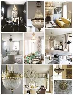 French Empire Chandeliers