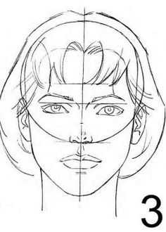 Today's Drawing Class 101: Understanding body proportions || Female face proportions: