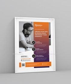 #Corporate #Flyer - Corporate Flyers Download here: https://graphicriver.net/item/corporate-flyer/19754995?ref=alena994