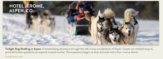 Dogsledding-Snowmass, CO