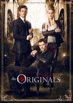 The Originals | The Vampire Dairies So excited for a spin off. Fingers crossed its just as good.
