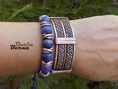 Men viking Copper BraceletBraided copper braceletBracelets