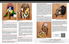 Ras Silas Motse in the South African Artist Magazine