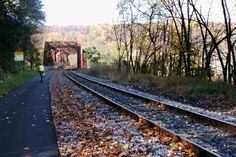 Free-Wheeling-  300 miles of bicycle path from Pittsburgh to DC.  Washington Post Travel article.  This is on my bucket list!  Such a beautiful part of the country!!!