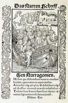 """""""Das Narrenschiff"""", .Sebastian Brant"""