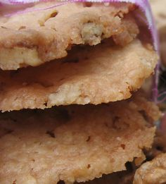 Foodalution: Toasted Hickory Nut Butter Cookies