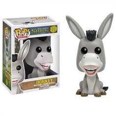 Attention: This Pop! Vinyl figure does not come with waffles. The Shrek Donkey Pop! Vinyl Figure features Shrek's chatty-ass companion as an adorable Pop! Standing about 3 tall, this figure is packaged in a window display box. Ages 3 and up. Disney Pop, Disney Pixar, Funk Pop, Dreamworks, A Wrinkle In Time, Rocky Horror, Pop Vinyl Figures, Toy Art, John Deacon