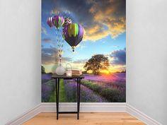 Hot Air Balloon Self Adhesive Wallpaper | The Binary Box