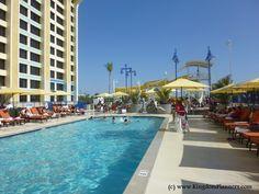 Pool at Disney's Paradise Pier Hotel  - Disneyland Resort #Disney