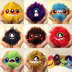 Make Your Own Furry Monsters
