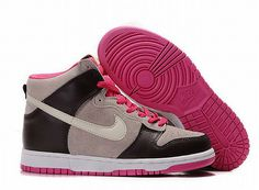 nike High Tops Women | Home :: Pure Color Nike Dunk :: Women Nike Dunk For Sale Pink ...