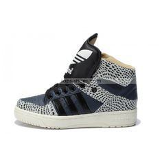 Adidas High Tops for Girls | Adidas High Tops Black Fish Scale For Women
