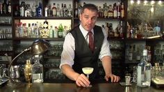 Strega Sour: The winner of the Martin Miller's Gin 'Trade Up' competition.