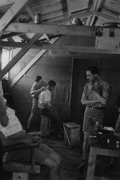 Spanish Republican combatants, Argeles Concentration Camp, Argeles, France 1939 Ione Robinson