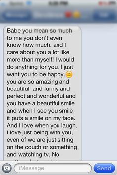 Cute long text messages to send to your boyfriend