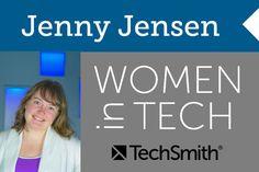 Women in Technology: Jenny Jensen #SkillsGap #Engineering #STEM