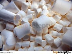 sm - marcipán s marshmallow Meringue Pavlova, Marzipan, Rum, Marshmallows, Fondant, Cheesecake, Deserts, Food And Drink, Drinks