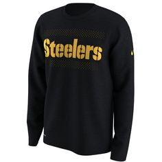 Nike Legend (NFL Steelers) Men s Long Sleeve T-Shirt Size Medium (Black)  Men s XL 67e30b228