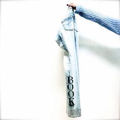 Denim Diva customized by Book Moda magazine. #fracominadivacollection