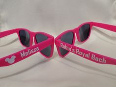 SALE: Personalized Sunglasses Bridal Party by MemorableCreations2