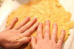 cooking almond flour crackers parchment paper
