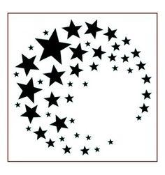 Imagination Crafts Stencil - Star Crescent