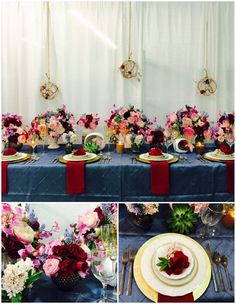 Mayesh San Fernando Valley Tablescape    Charity: National MS Society  Concept: Valentine's Day inspired eclectic Mid-Century design highlighting the Pan-tone colors for 2016.  Sponsors: Subrosa Floral Design, A Memory Made, and San Diego Floral Supply