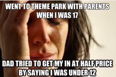This happened to me when I was 20.