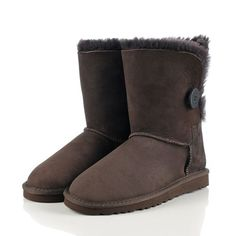 2013 UGG 5803 Bailey Button Womens Boots Chocolate Sale