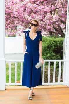 Macacão azul marinho pantacourt #macacão #macacao #pantacourt #moda #modafeminina #modamujer #modaderua #estiloderua #streetstyle #streetwear #streetfashion #look #looks #lookdodia #lookoftheday #ootd #outfits #outfitideas #outfitoftheday #fashion #fashionblog #GostoDisto