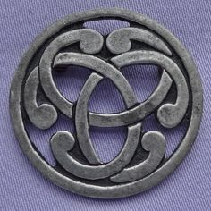 Awesome This Lovely Pierced Pewter Brooch Was Handcrafted In Cornwall, England And  Depicts A Wonderful Celtic