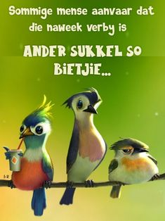 Naweek is verby Afrikaanse Quotes, Goeie More, Good Morning Texts, Qoutes, Soul Food, Van, Messages, Tattoo, Funny