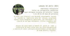 #walkscapes #workshops : proyecto El paisaje agrario de #Veranes. Habitantes paisajistas. taller de #cartografías subjetivas,18 abril 2015 http://pacaproyectosartisticos.com/living-landscape/proyectos-en-curso/el-paisaje-agrario-de-veranes/