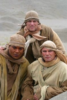 SG1 Moebius Season 8 Finale   TEAL'C, Colonel  Jack O'Neill, Dr. Daniel Jackson