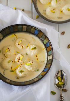 Mix and Stir: Rasmalai : Milk Based Dessert with Cheese Dumplings