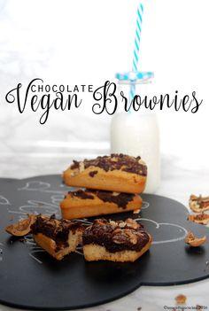 Una gatta in cucina: Brownies vegani al cioccolato   vegan chocolate brownies
