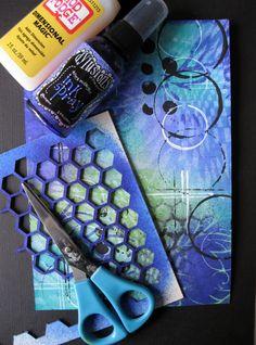 478.007.001 Dutch Softboard Art Honeycomb Door Miranda van den Bosch