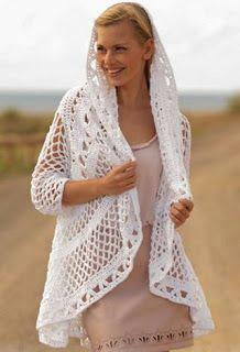Tina's handicraft : long-sleeve crochet bolero