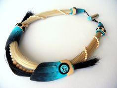 """""""Galloping Waves"""" necklace 