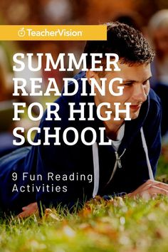 Pair your summer reading lists with this 9-activity choice board of fun summer reading activities for high school students. Each activity combines a fun project or challenge with a reading or comprehension skill. Reading Resources, Reading Activities, Reading Skills, Summer Activities, Teacher Resources, Latin Root Words, Reading Record, Summer Reading Lists, High School Students