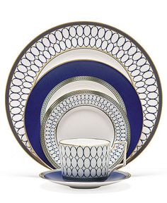 Even the youngest of ingénues wouldn't go wrong selecting this timeless pattern for his/her wedding registry wish list.- The Circular Home